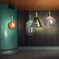 Bomma unveils glass lighting collection by six Czech designers