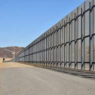 US/Mexico border fence at El Paso, TX