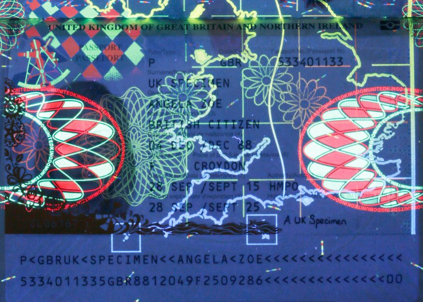 British passport design makes national identity