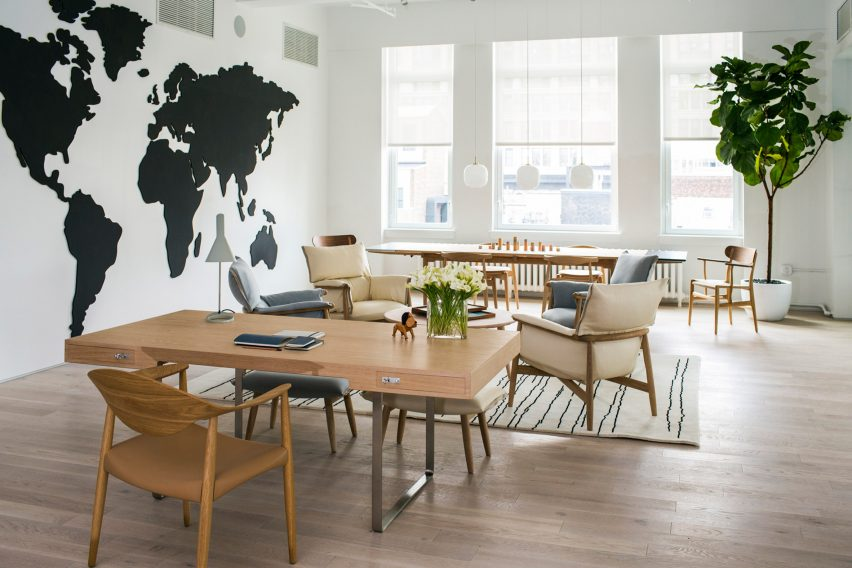 Furniture Design Nyc carl hansen & son brings scandi design to new york's flatiron district