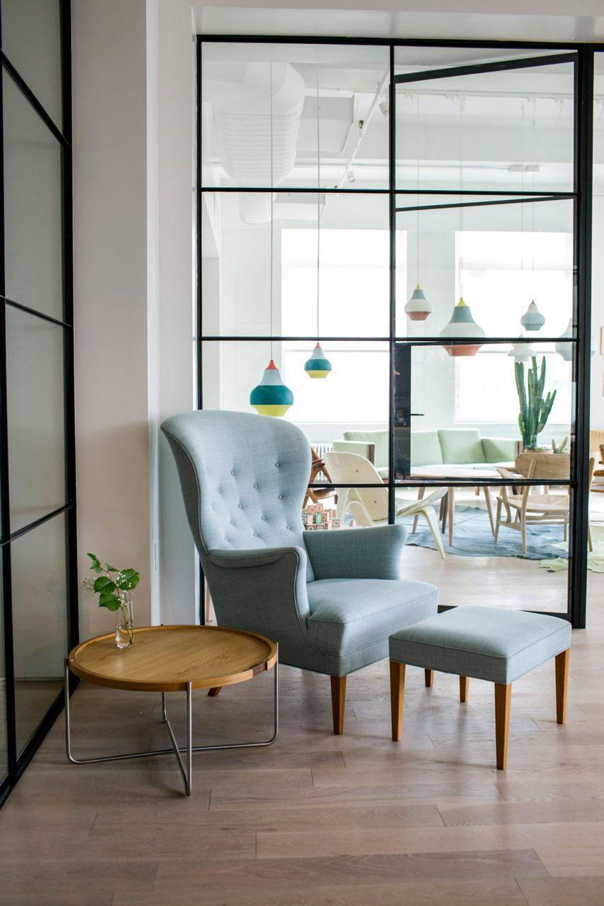 Carl Hansen & Son's New York showroom