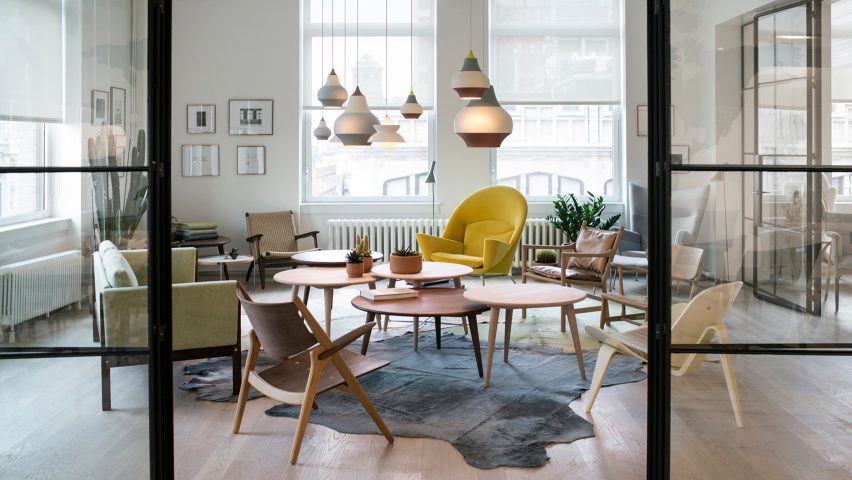 Delightful Carl Hansen U0026 Son Brings Scandi Design To New Yorku0027s Flatiron District