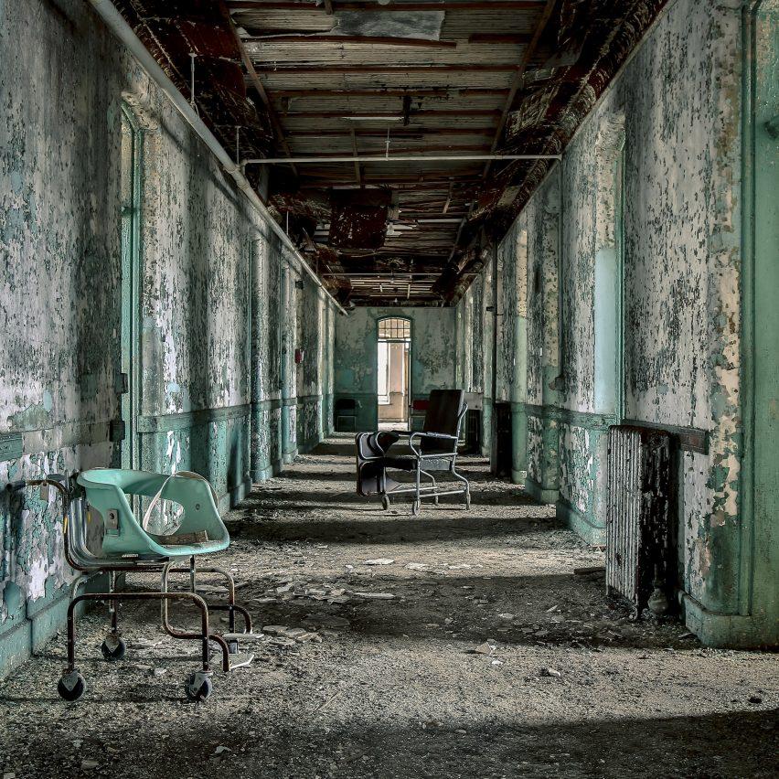 Childrens Insane Ward Matt Van der Velde Architecture Abandoned Asylums Interior Jonglez Publishing