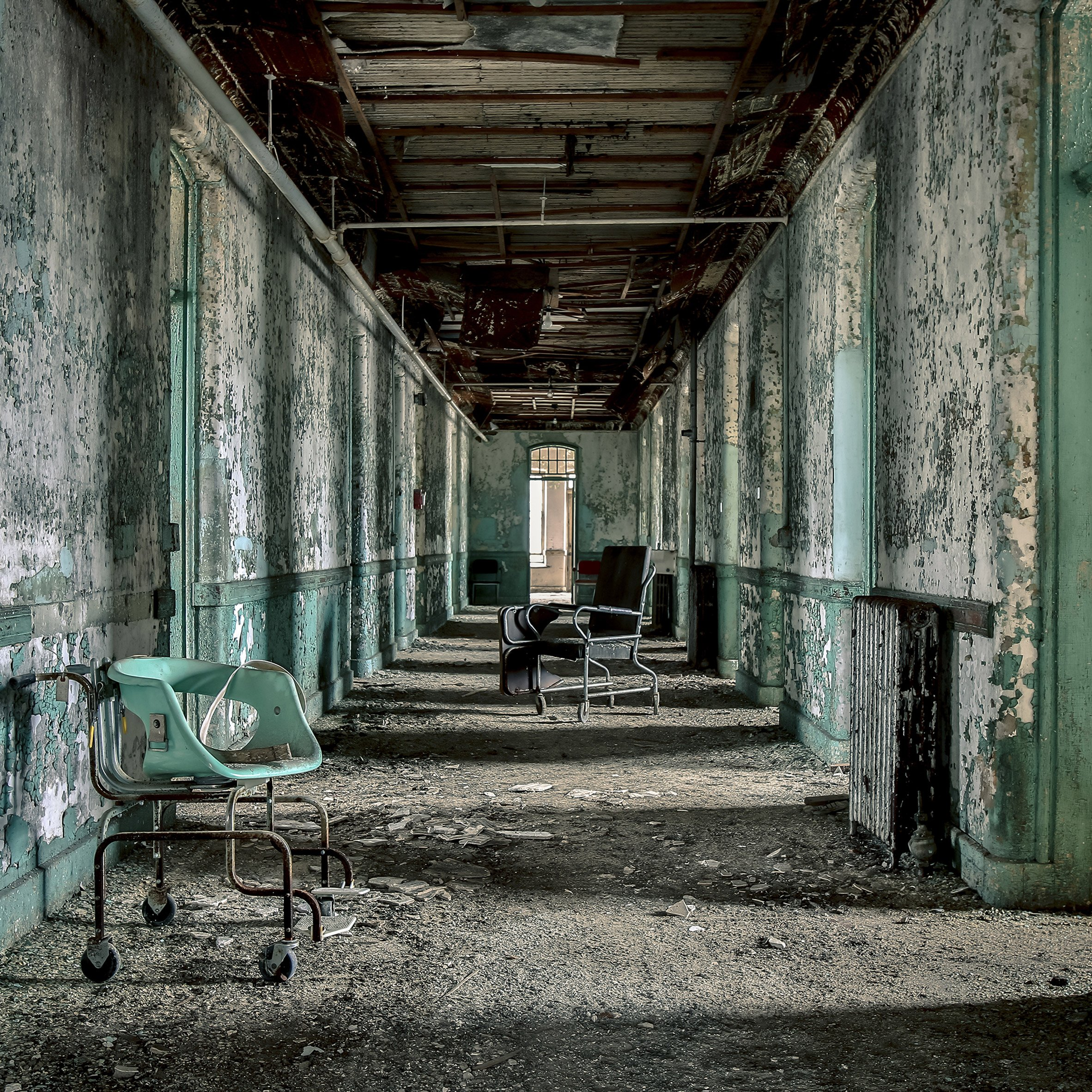 photography essays dezeen matt van der velde photographs abandoned insane asylums