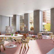Children's playroom 121 E 22nd St OMA Rem Koolhaas Residential Tower
