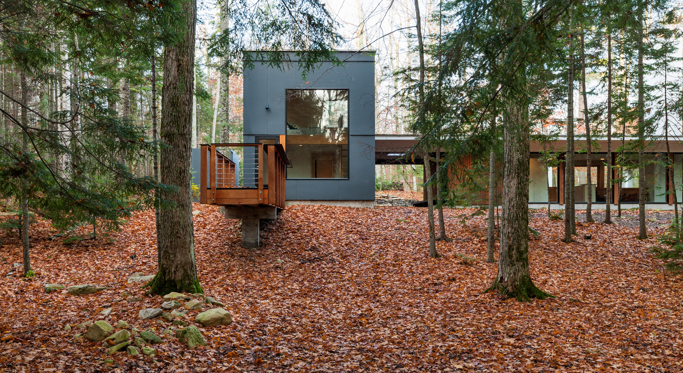 Salmela builds Wisconsin residence in four separate phases over time