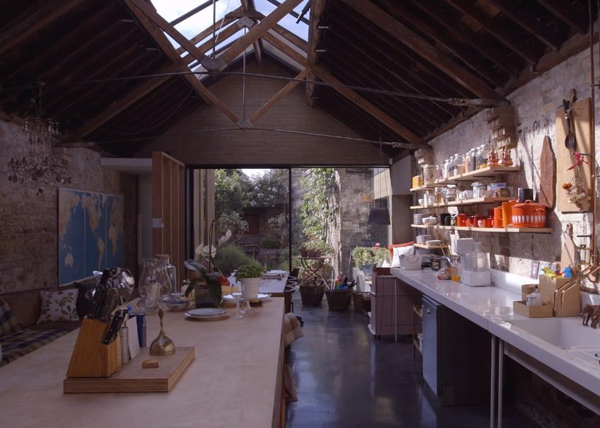 Collage House, London, England by Jonathan Tuckey Design