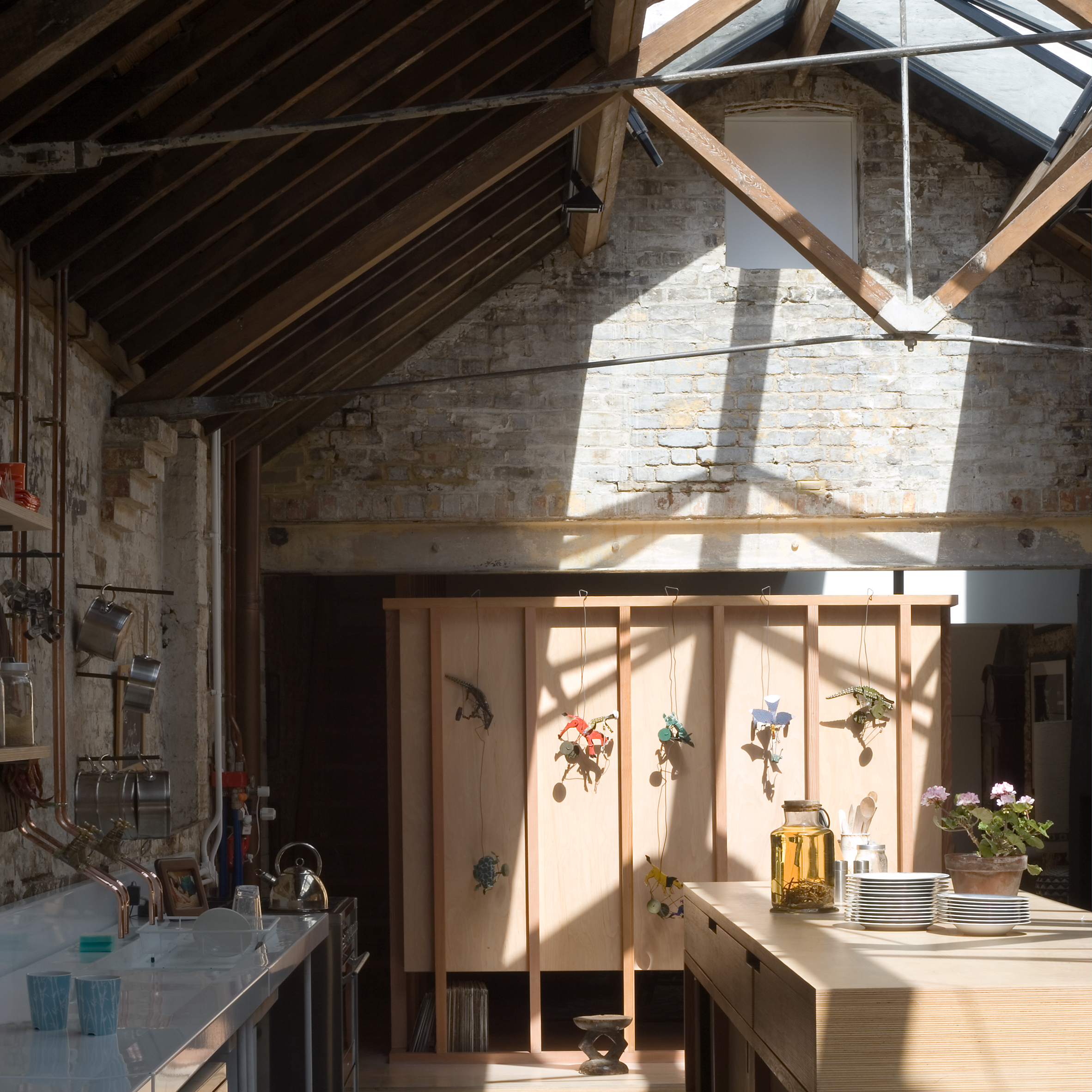 london house extensions dezeen movie explores jonathan tuckey s home in a former london steel workshop