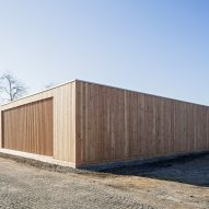 Community Centre in the Refugee Camp Spinelli Mannheim, Germany by Design build