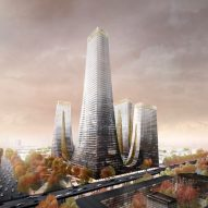 Tonkin Liu reveals tapering tower complex for Zhengzhou