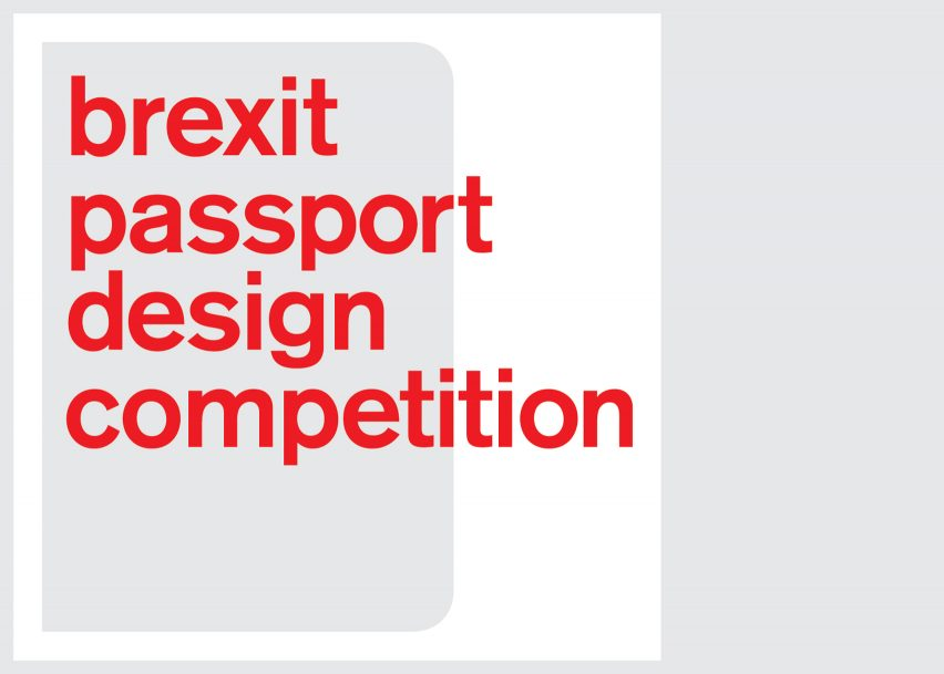 Dezeen launches Brexit Passport Design Competition