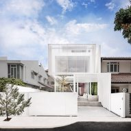 White translucent box forms Singapore residence by Park+Associates Architects
