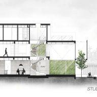 Greja House Section