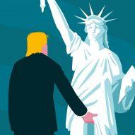 Donald Trump illustration by Lennart Gäbel