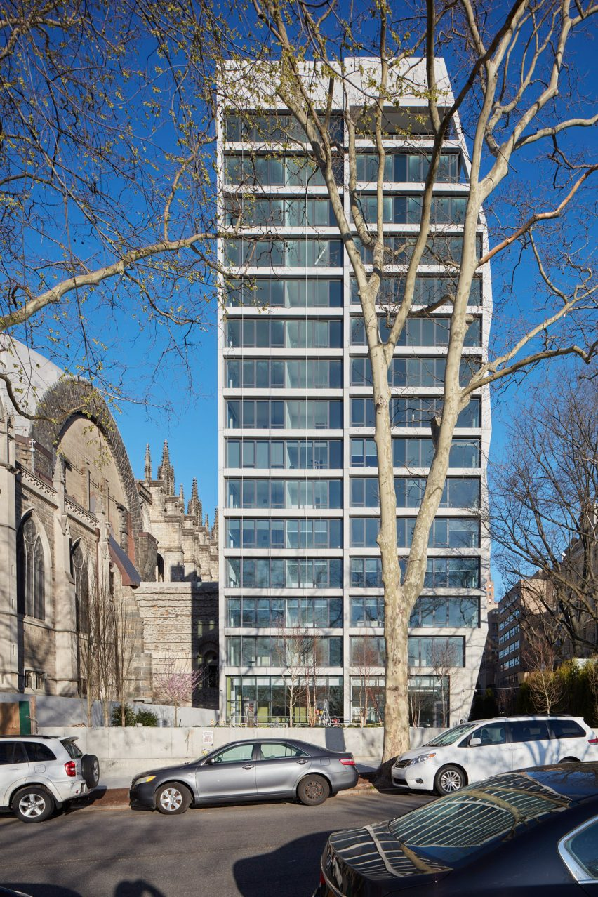 manhattan apartment building by handel architects takes cues from historic church manhattan apartment building by handel