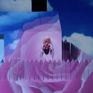 "Es Devlin's Grammys stage set for Katy Perry featured picket fence that turned into ""divisive wall"""