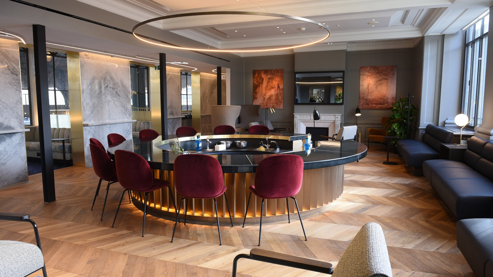 Eurostar lounge by Softroom