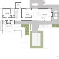 First floor plan Martis Camp 506 by Blaze Makoi Califronia Holiday Home