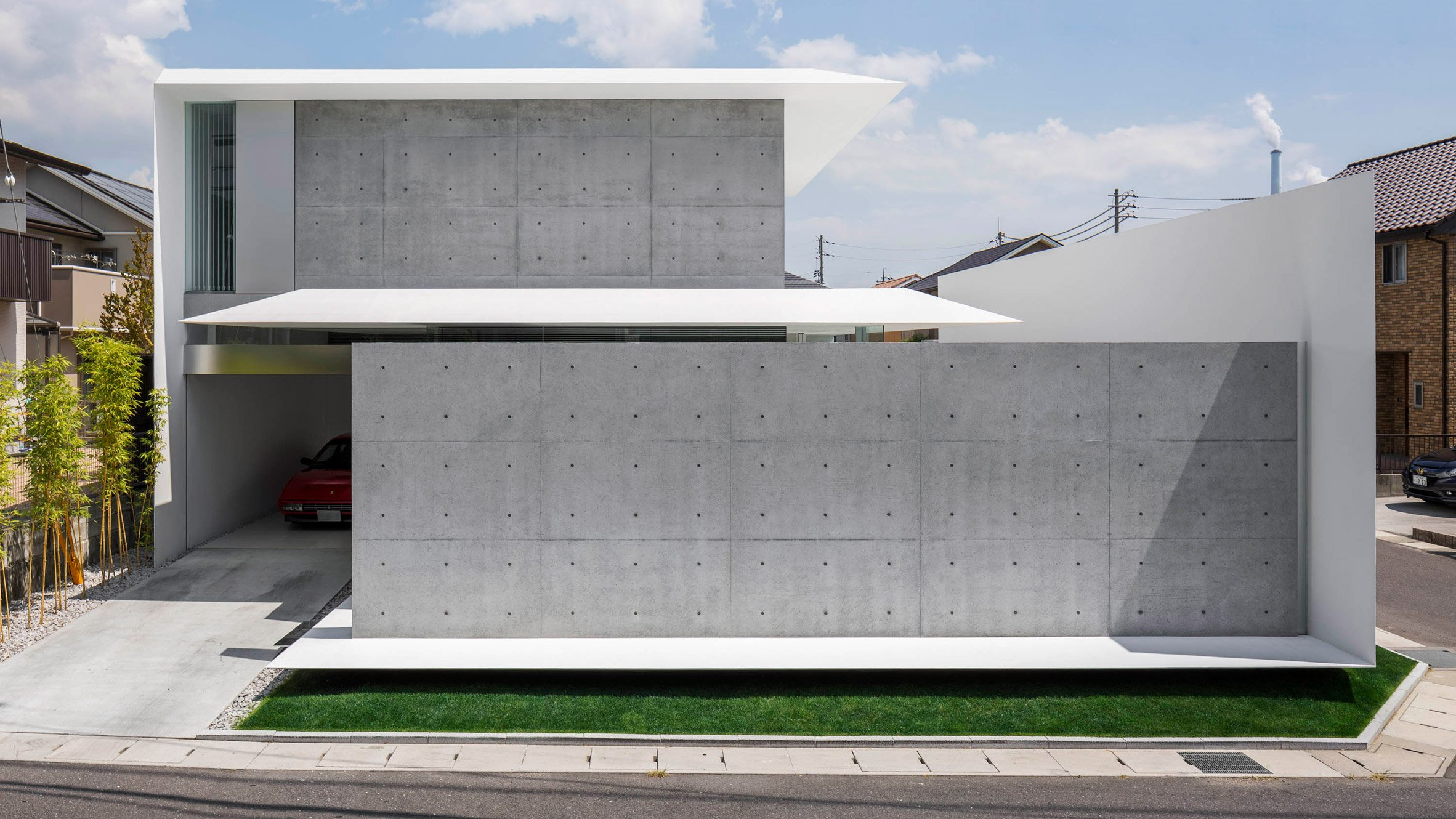 Kubota Architect Atelier Combines Delicately Tapered Surfaces With Sturdy Concrete Walls For Fu House