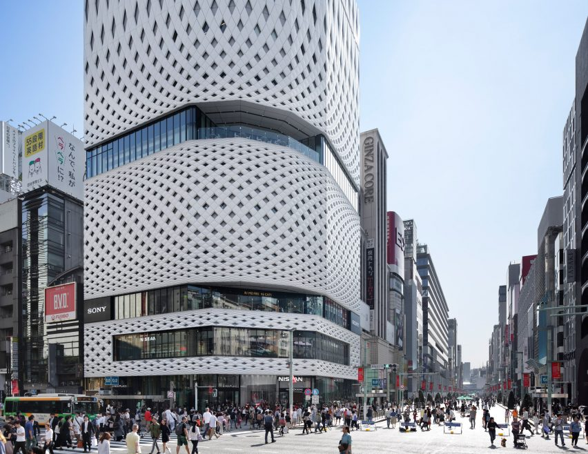 Ginza Place by Klein Dytham