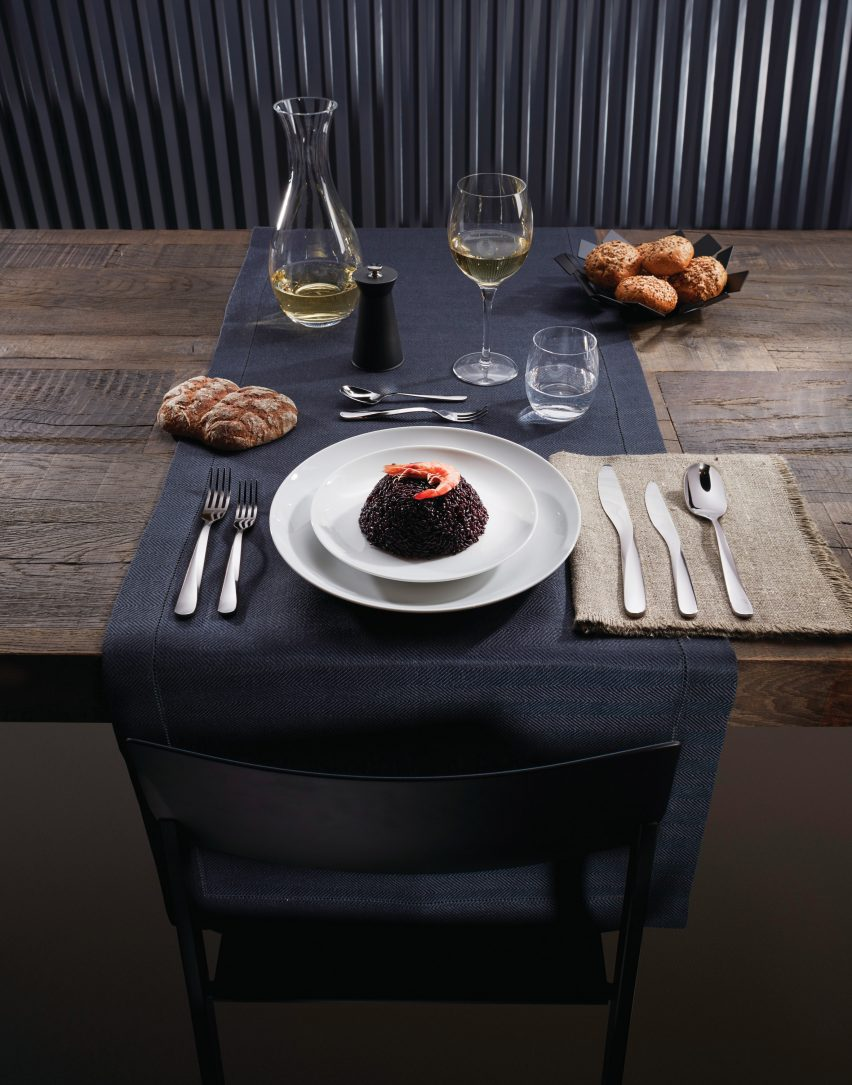 Giro cutlery by UNStudio for Alessi