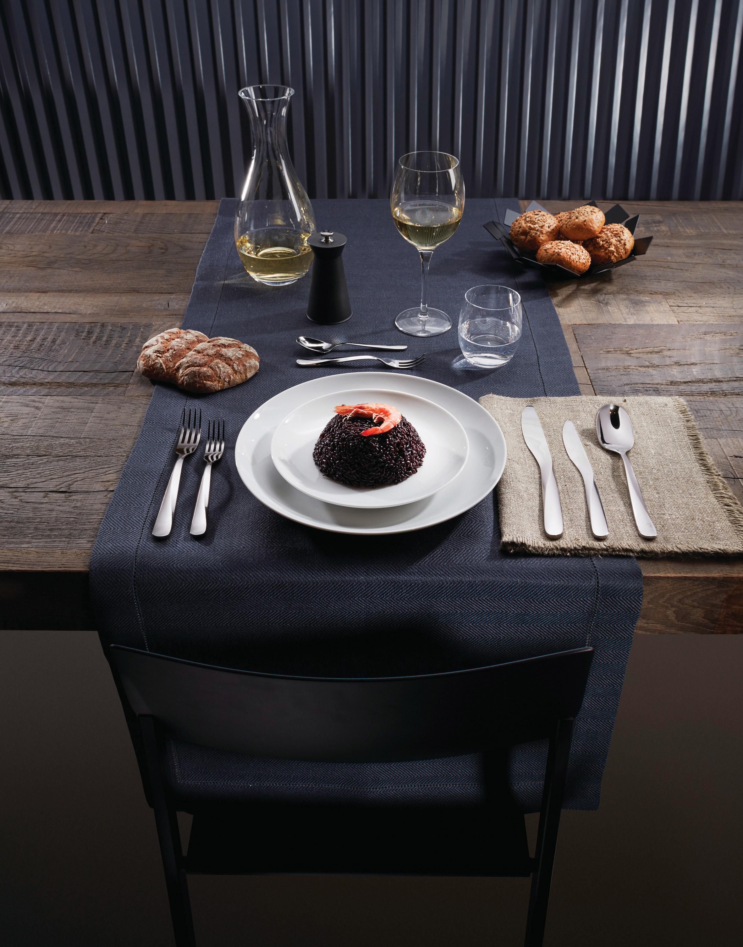 UNStudio designs twisting cutlery set for Alessi