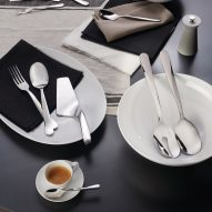 UNStudio designs twisting cutlery set for Alessi