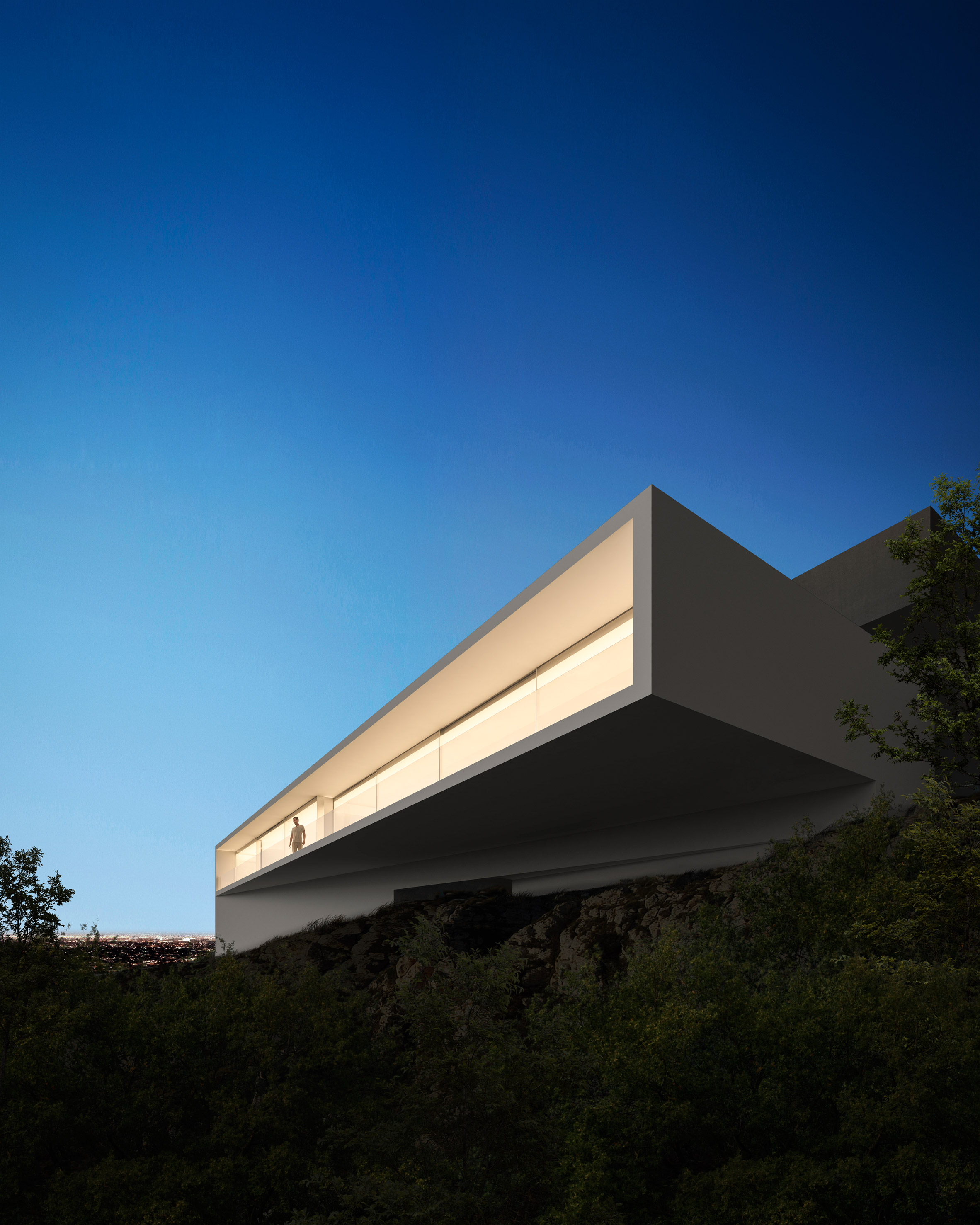 Minimal Hollywood house by Fran Silvestre Arquitectos juts ...
