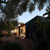 Black house in Melbourne provides sanctuary for sleeping-disorder sufferer