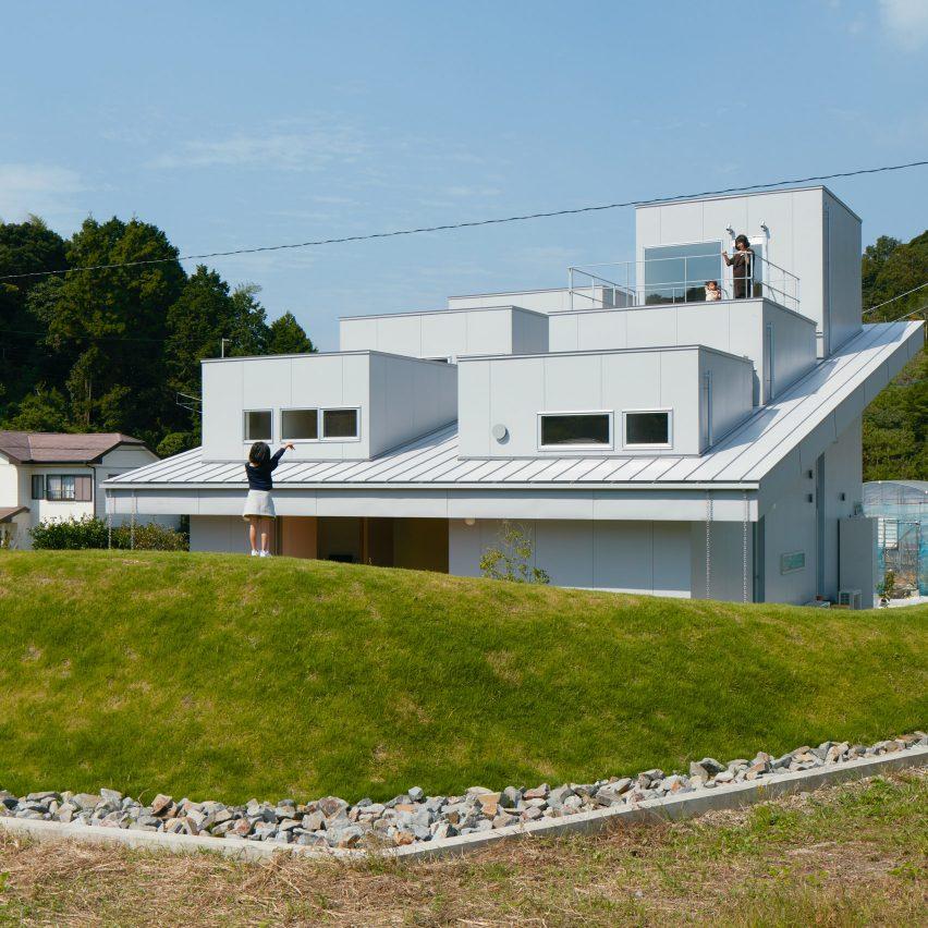 House in Tokushima by Fujiwara Muro