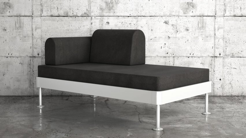 Sofabett ikea  IKEA reveals Tom Dixon's Delaktig modular bed and sofa
