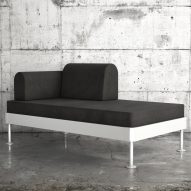 IKEA reveals Tom Dixon's Delaktig modular bed and sofa