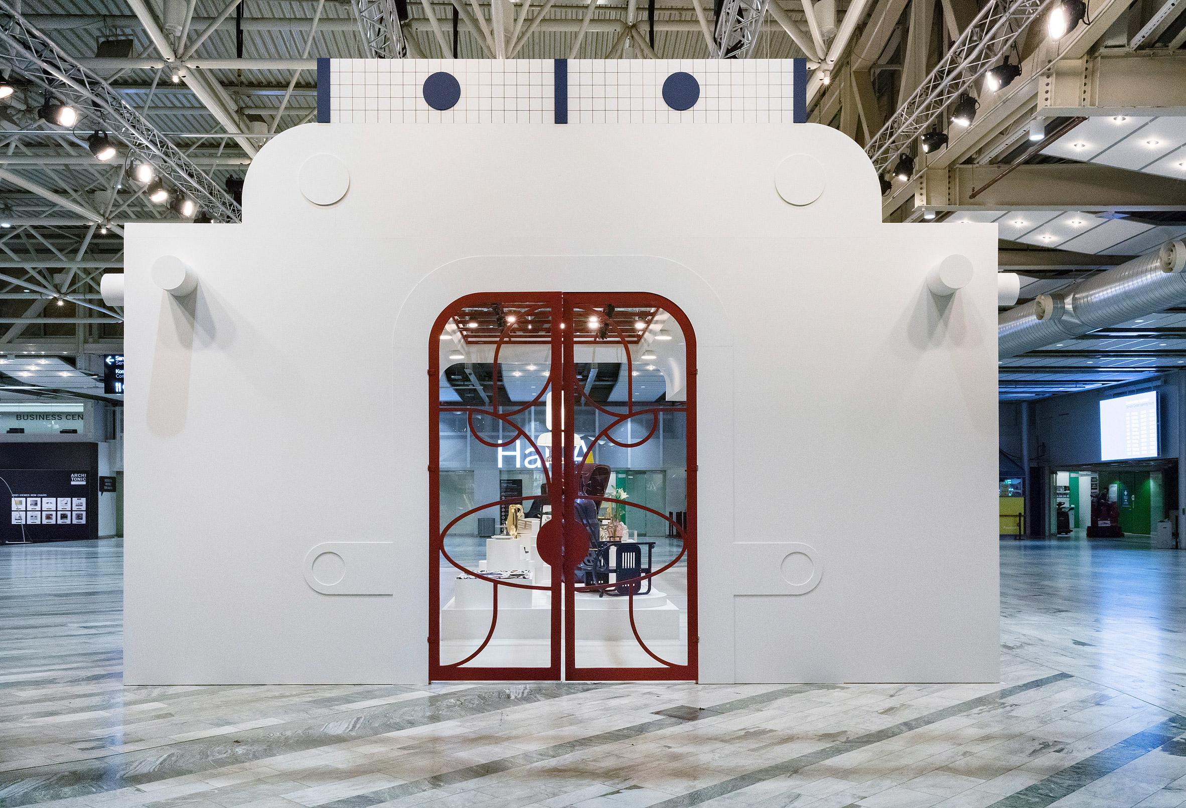 Jaime Hayon mashes up architectural styles for Stockholm Furniture Fair pavilion