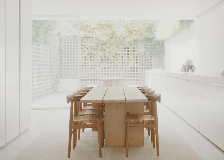 Notting Hill home, London, England by John Pawson