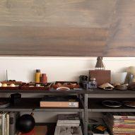 Shelving unit Junsei House by Suyama Peterson Deguchi