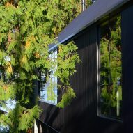 Exterior steel cladding Junsei House by Suyama Peterson Deguchi