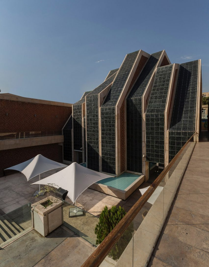 Architizer A+ Awards - Perspective view of Emam Reza Mosque and Cultural Complex by Kalout Architecture Studio