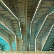 Architizer A+ Awards - Interior ceiling detail of Emam Reza Mosque and Cultural Complex by Kalout Architecture Studio
