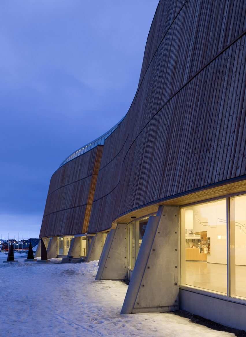 Katuaq Cultural Centre of Greenland in Nuuk celebrates its 20th anniversary