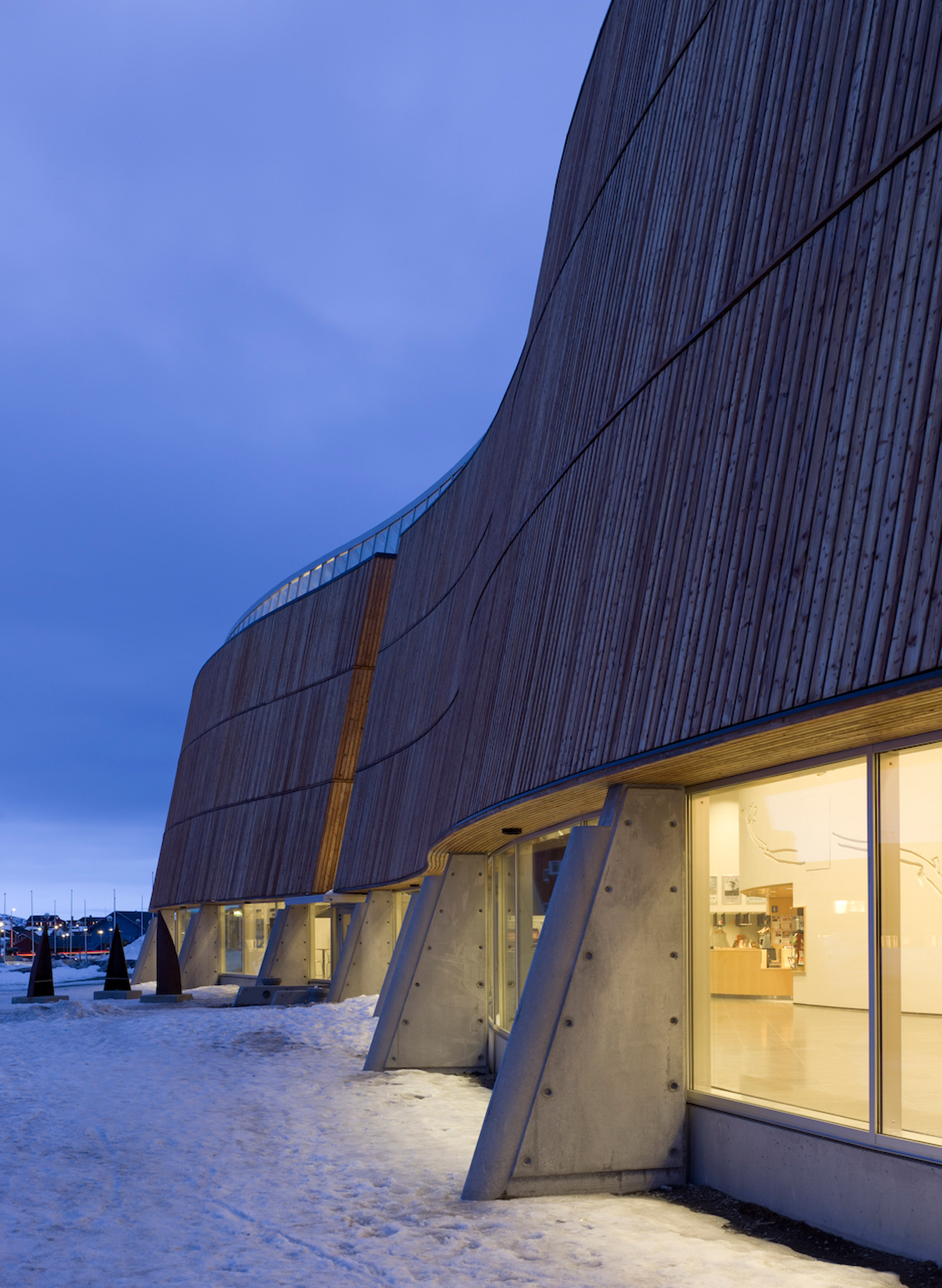 Schmidt Hammer Lassen reveals new images of Greenland cultural centre to mark its 20th anniversary