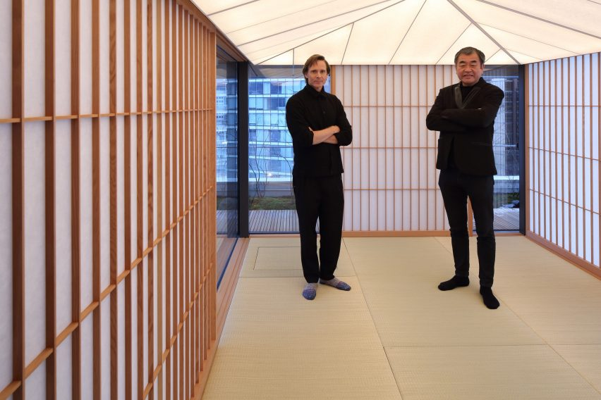 Kengo Kuma teahouse/exhibition in Vancouver