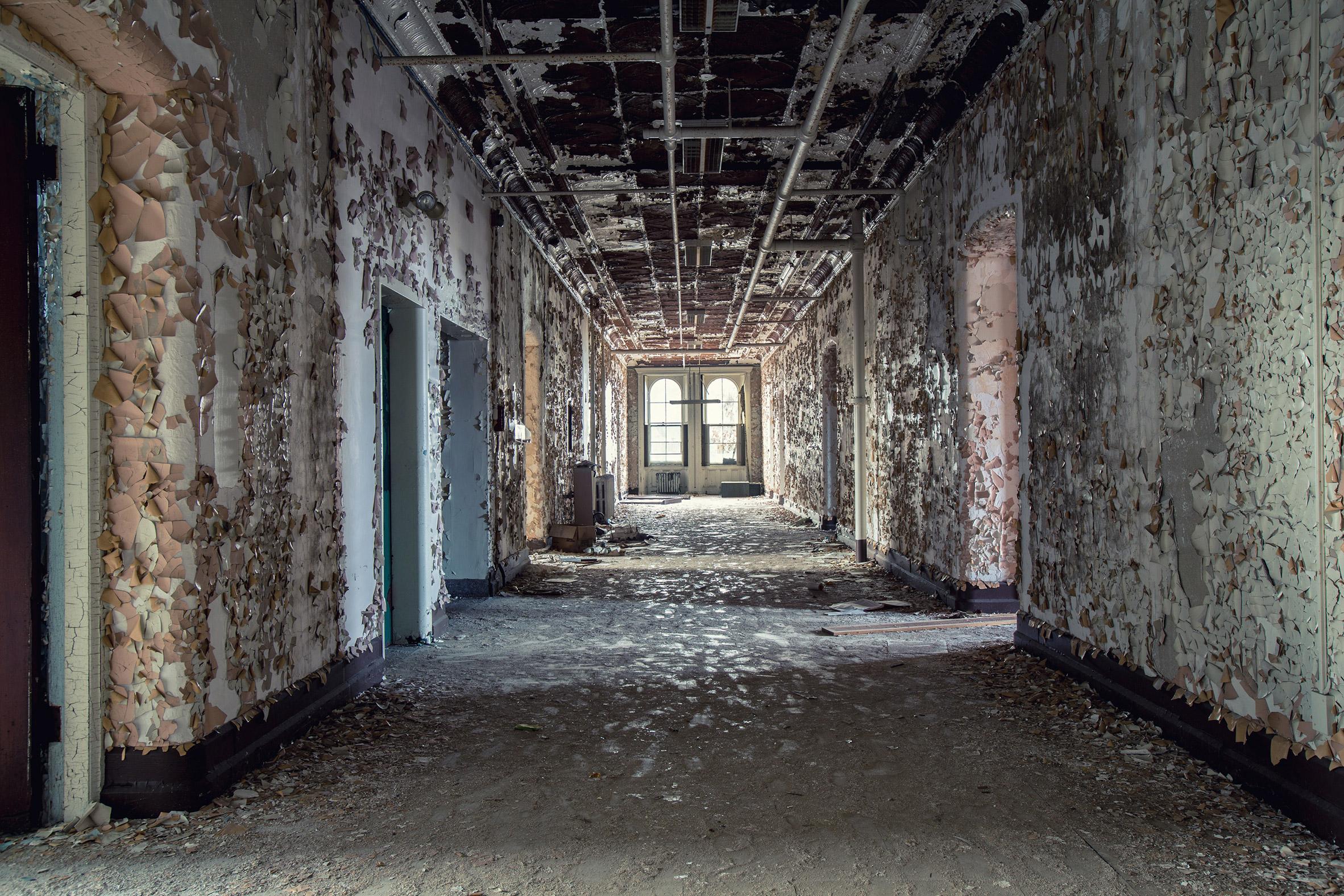Matt Van Der Velde Photographs Abandoned Insane Asylums
