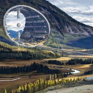 Sci-fi landscape illustrations accompany winning story in architectural fairytale competition