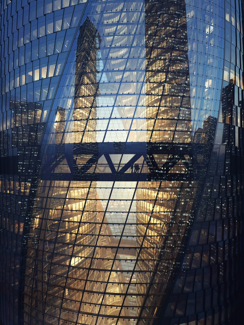 Leeza Soho by Zaha Hadid Architects