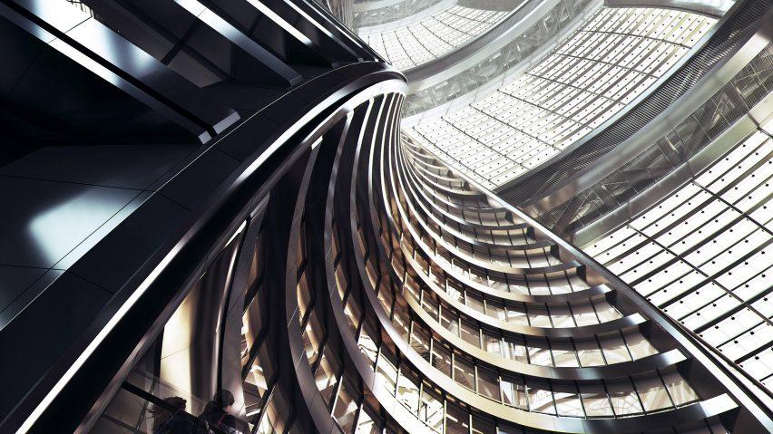 Leeza Soho by Zaha Hadid Architects