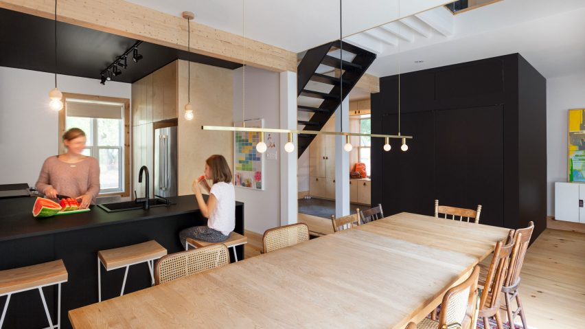 Mélissa Ohnona preserves nicks and scratches during revamp of century-old Montreal home