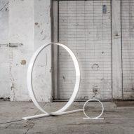 Timo Niskanen designs giant looping LED light for Himmee
