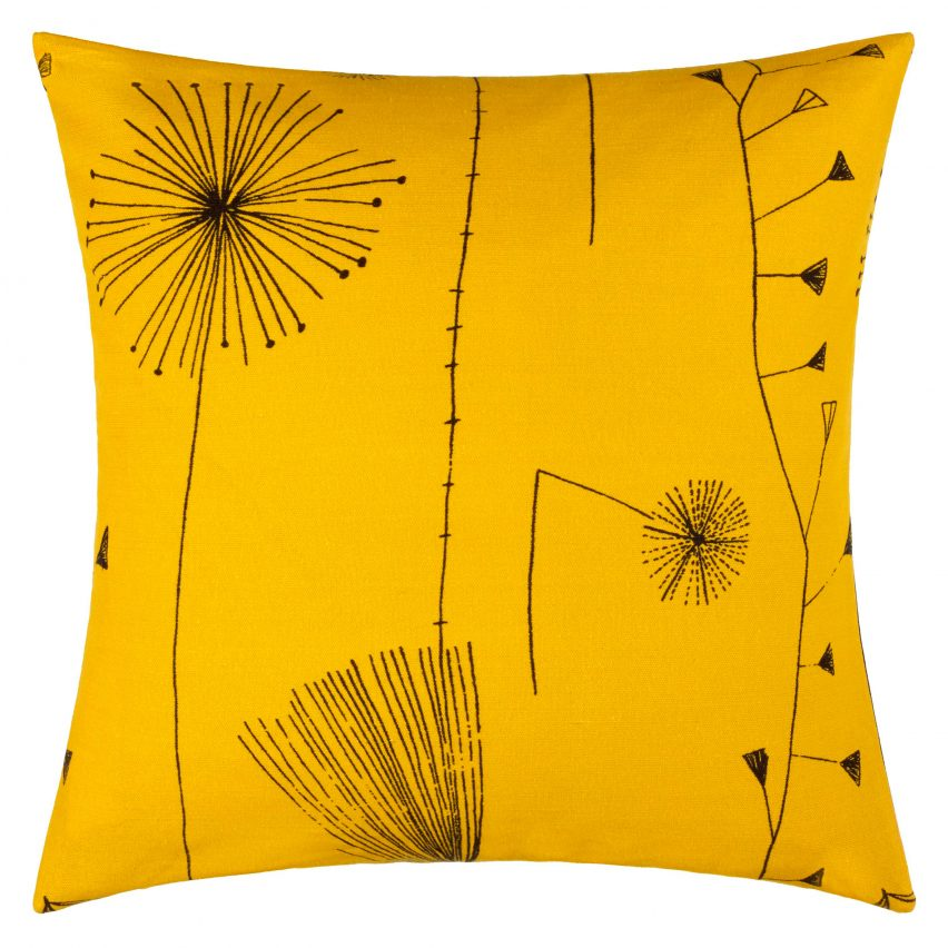The Collection Includes Six Cushions Each Featuring Prints Created By Day In 1950s