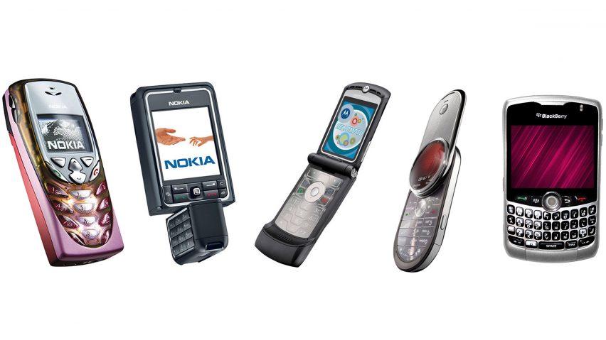 0c82d0e808f323 Dezeen's most memorable classic mobiles from the pre-iPhone era