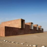 Peruvian archaeology museum by Barclay & Crousse replaces another destroyed by earthquake
